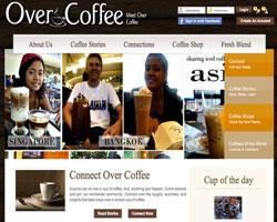 «Over Coffee» - соцсеть для любителей кофе